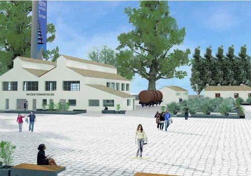 Πρόταση για την ανάπλαση του παλαιού εργοστασίου εμποτισμού στον Σιδηροδρομικό Σταθμό