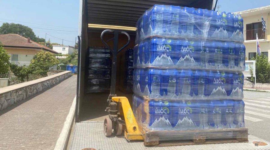 Συνεχίζονται οι εργασίες αποκατάστασης της υδροδότησης της Ν. Τραπεζούντας, Κούκου και Τριλόφου