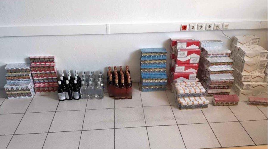 Τρεις συλλήψεις για λαθρεμπόριο ποτών και τσιγάρων στην Κατερίνη