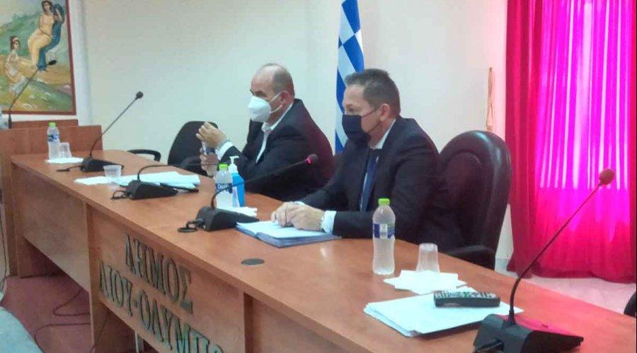 Συνάντηση του αν. υπουργού Εσωτερικών Στέλιου Πέτσα με φορείς της Πιερίας